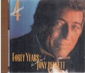 Forty Years the Artistry of Tony Bennett